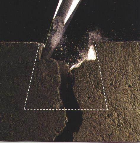 Расширение трещины