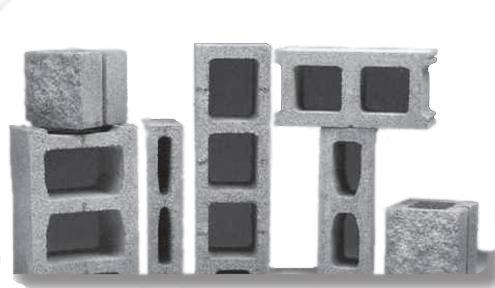 Разновидности пескоцементных блоков
