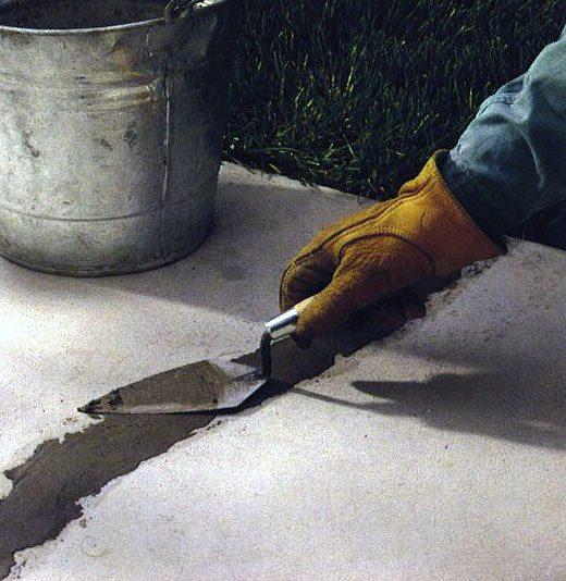 Ремонт бетонного пола своими руками