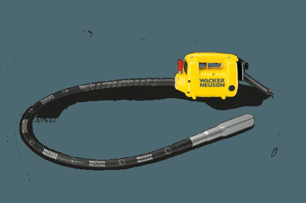 Ручной механический вариант вибратора для уплотнения бетонной смеси