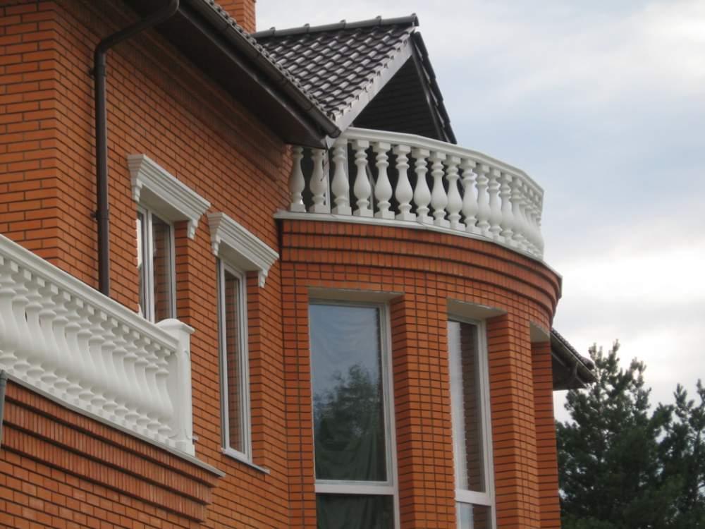 Бетонные балясины: особенности перил из бетона, методы изгот.