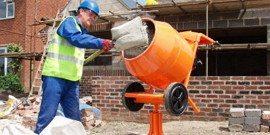 С помощью лопаты быстро и легко добавляется нужное количество каждого компонента