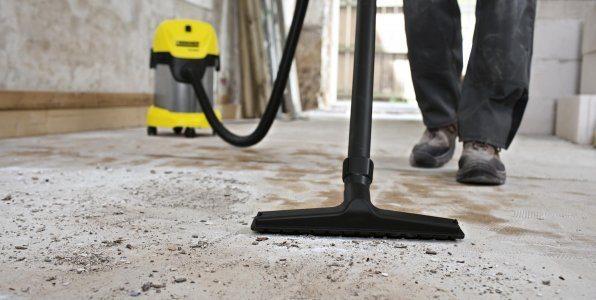 С помощью строительного пылесоса качественно подготовить основание своими руками не составит труда