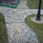 Садовая дорожка из бетона