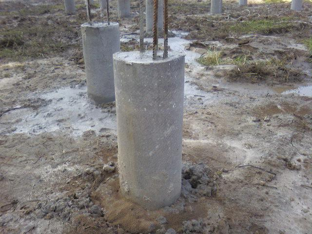 Колонна из бетона своими руками