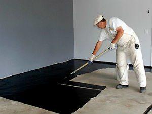 Самостоятельная покраска бетонного пола