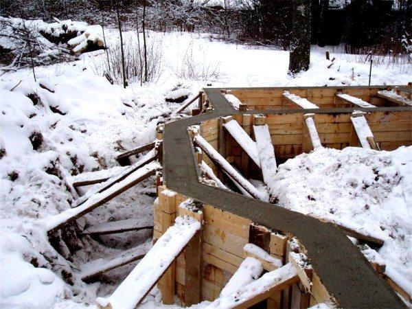 Самостоятельное бетонирование в зимний период