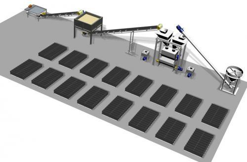 Схема промышленного цеха