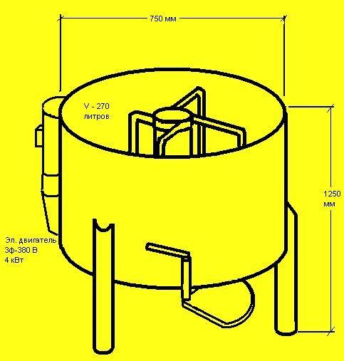Схема простого смесителя