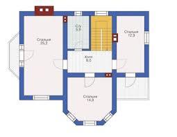 Схема с расположением комнат и указанием их габаритов является только частью проекта