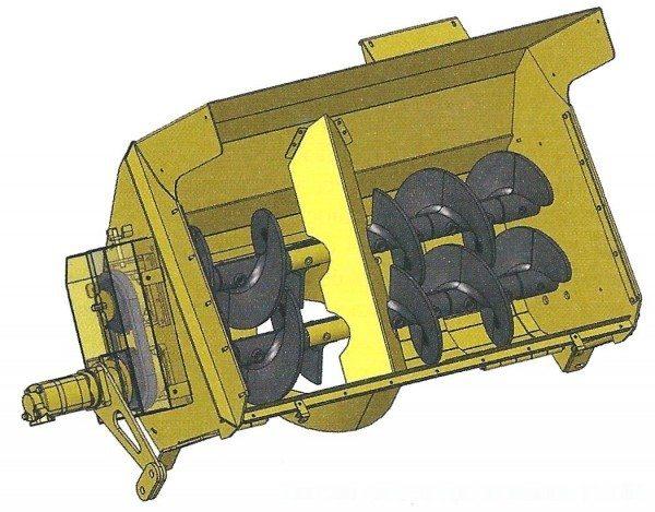 Схема устройства перегружателя (дисегрегатора)