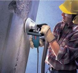 Шлифовка бетона ручной машинкой