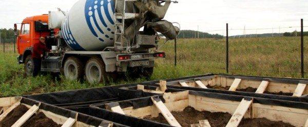 Сколько бетона вместит опалубка?