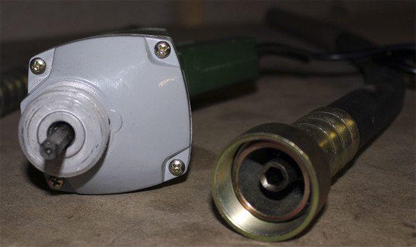Соединение с валом двигателя может быть восьмигранным.