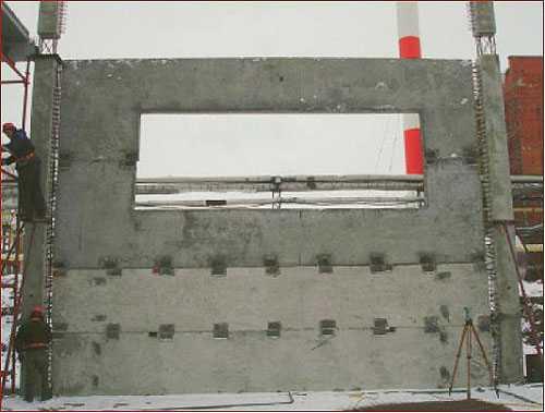 Составные бетонные изделия для возведения домов