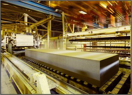 Современная линия производства неавтоклавного газобетона