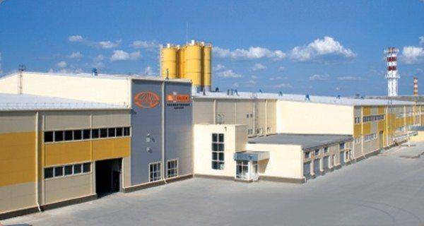 Современный завод по производству газобетона