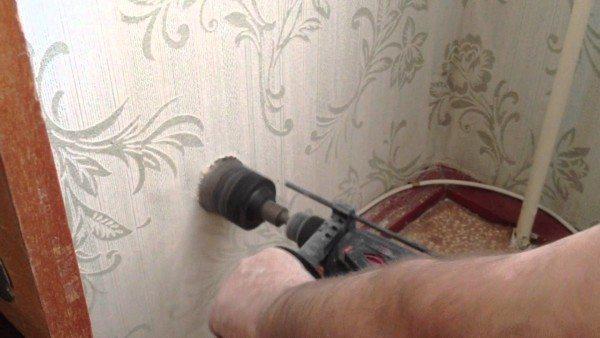Создание штроб под кабель
