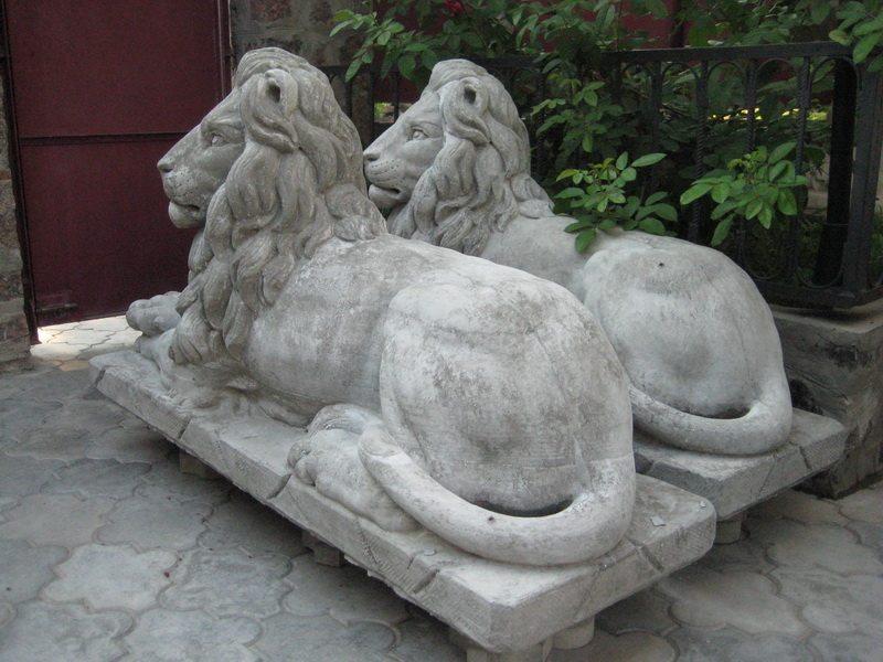 Садовая фигура своими руками из бетона