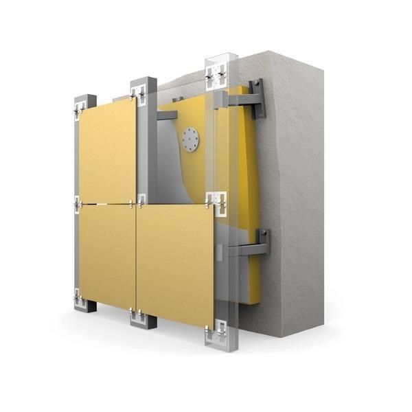 Срок службы газобетонных блоков при обустройстве вентилируемого фасада увеличивается чуть ли не вдвое за счет нормализации влажности