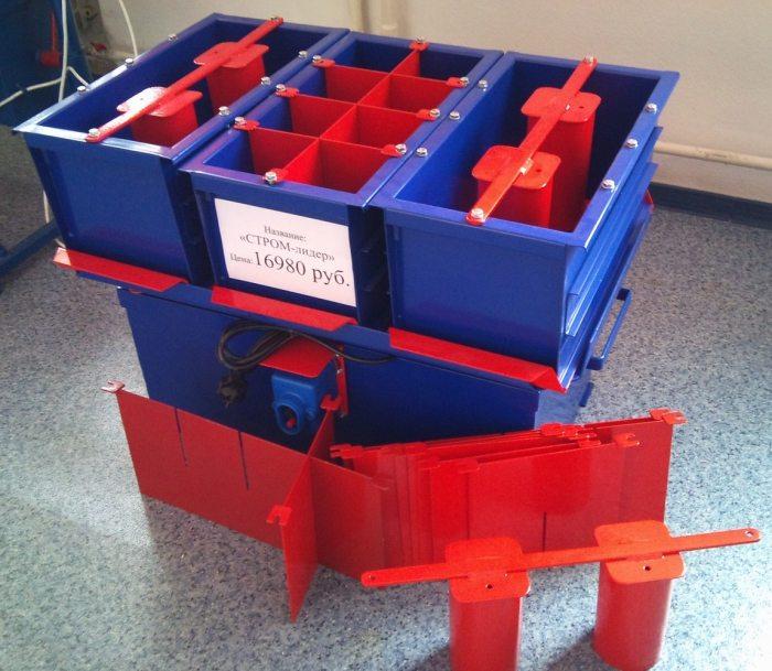 Установка для производства строительных блоков своими руками