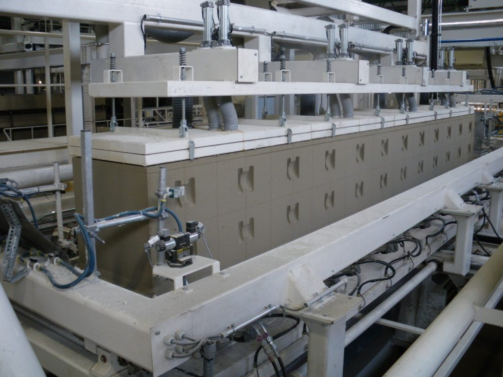 линия для производства автоклавного газобетона