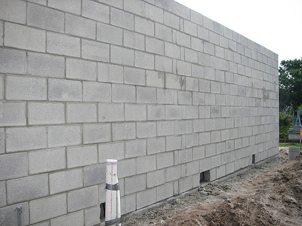 Стены из пеноблоков. Фото