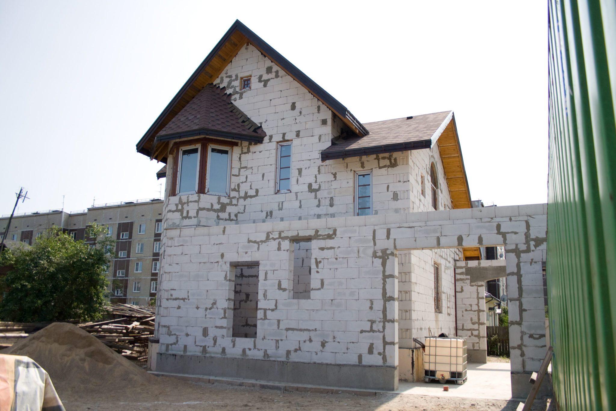 Проекты домов из газобетона своими руками фото