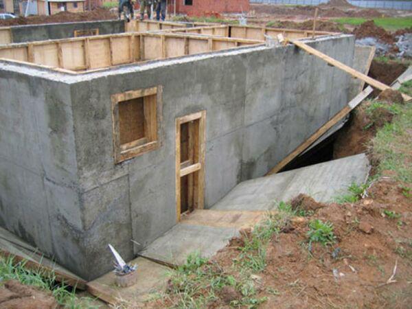Стены частного дома своими руками