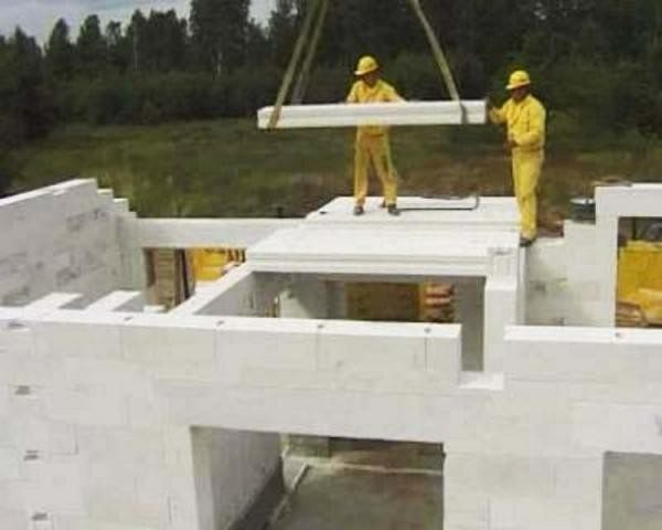 Строим дом из газобетона: видео-инструкция по стройке, постройке