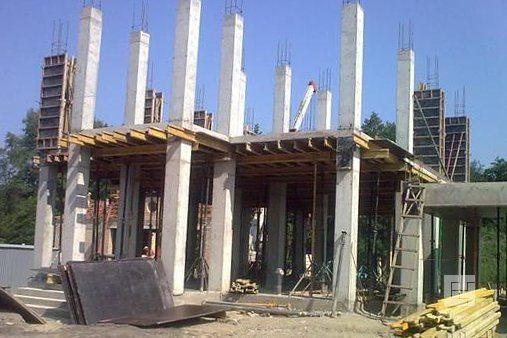 Строительство монолитно-каркасного частного дома