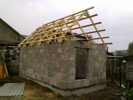 Строительство с применением ячеистых блоков