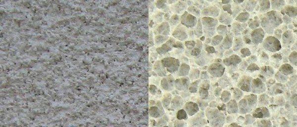 Структура ячеистого бетона.