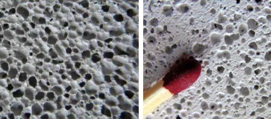 Структурные отличия между газобетоном и газосиликатом
