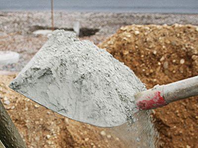 Сухой цемент