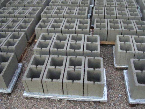 Сушка блоков.