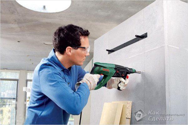 Сверление бетона своими руками