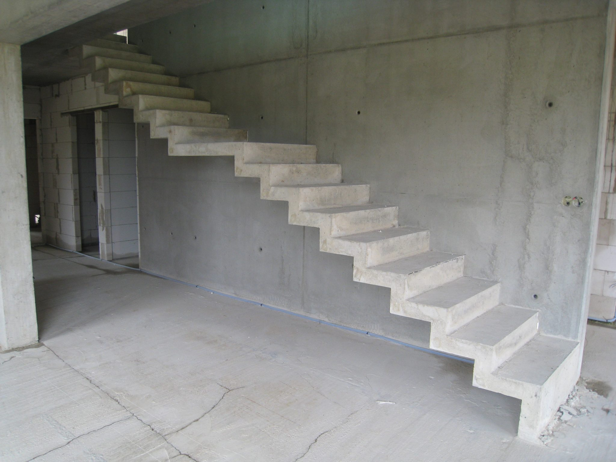 Лестницы своими руками бетон