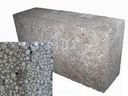 Так выглядит блок из полистиролбетона: фото