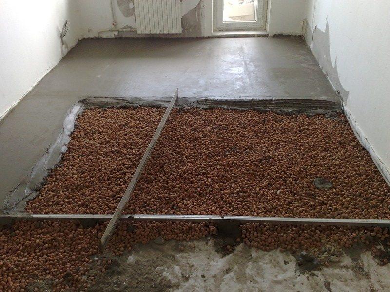 Черновой пол с керамзитобетоном виды текстур бетона