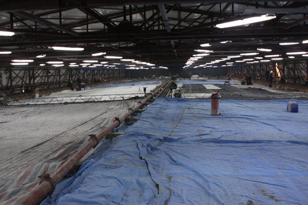 Теплоизоляция бетонной стяжки