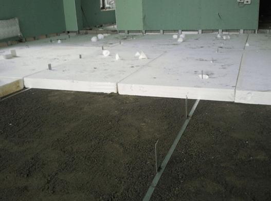 Теплоизоляция цементного пола