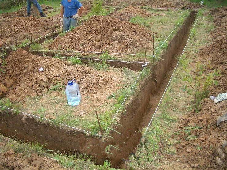 Ленточный фундамент для газобетона своими руками
