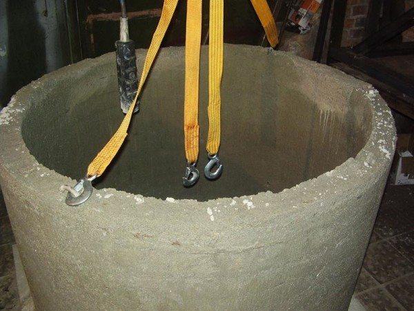 Транспортировка готового бетонного изделия