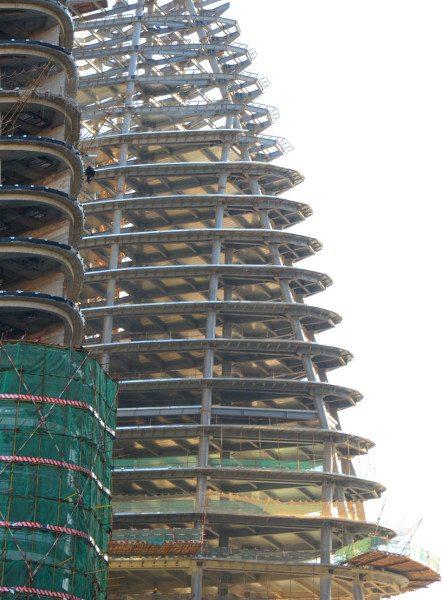 Трубобетон для каркаса строящихся зданий