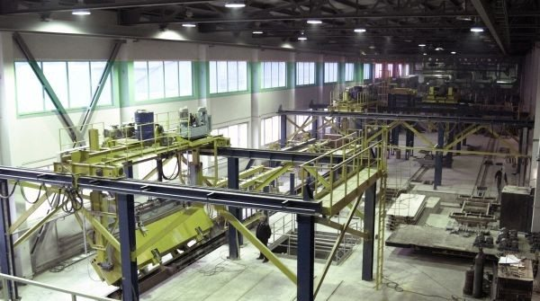Цех по производству газобетонных блоков