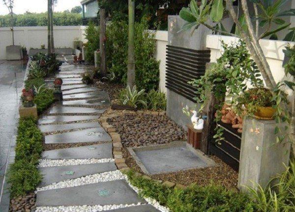 Цементное покрытие под дождём