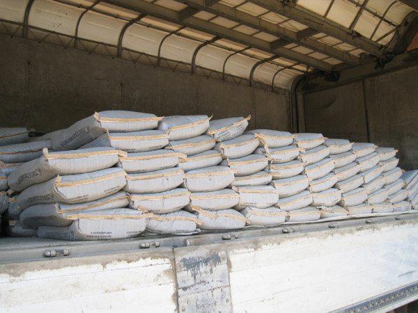Цена на цемент тонкого помола несколько выше