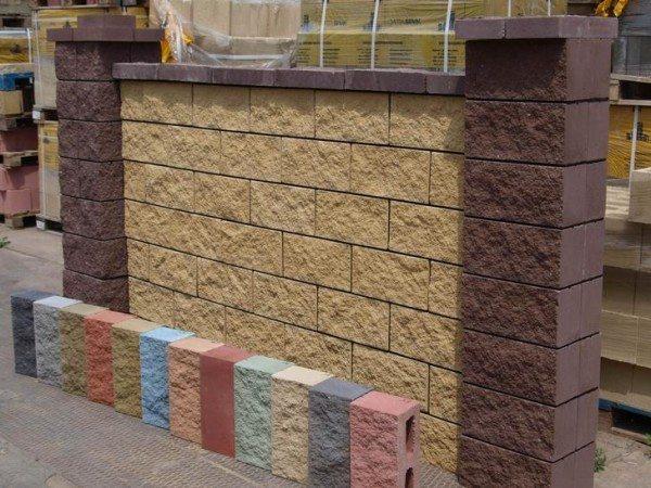 Цветные блоки с широкой сферой применения