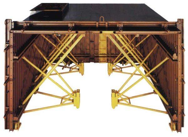 Туннельная опалубка для прямоугольных форм